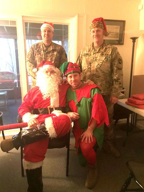 Santa and his elves were a huge help!
