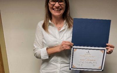 Congratulations to Amy Sterner!
