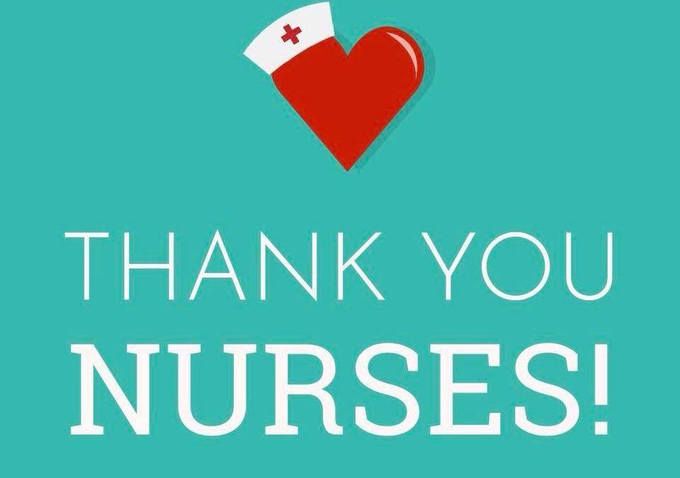 Thank you to our nurses!